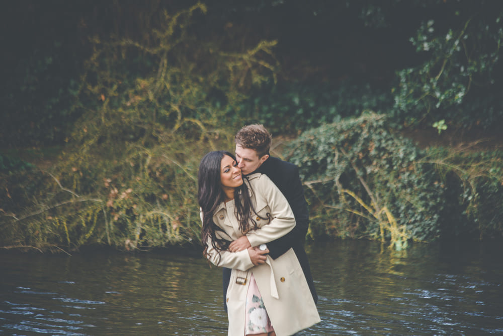 Engagement photo shoot uk